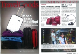 We Love the HammerHead LED Light, and so does travel goods magazine!