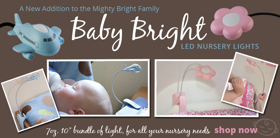Baby Bright LED Nursery Lights by Mighty Bright