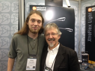 Mike Dawes and Michael NAMM 2014